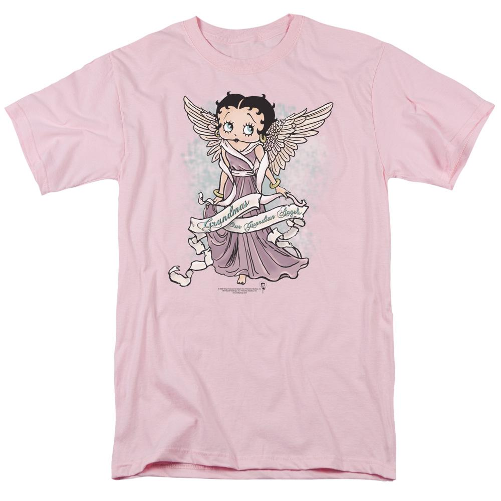 BOOP/GRANDMA GUARDIAN ANGEL - S/S ADULT 18/1 - PINK - SM