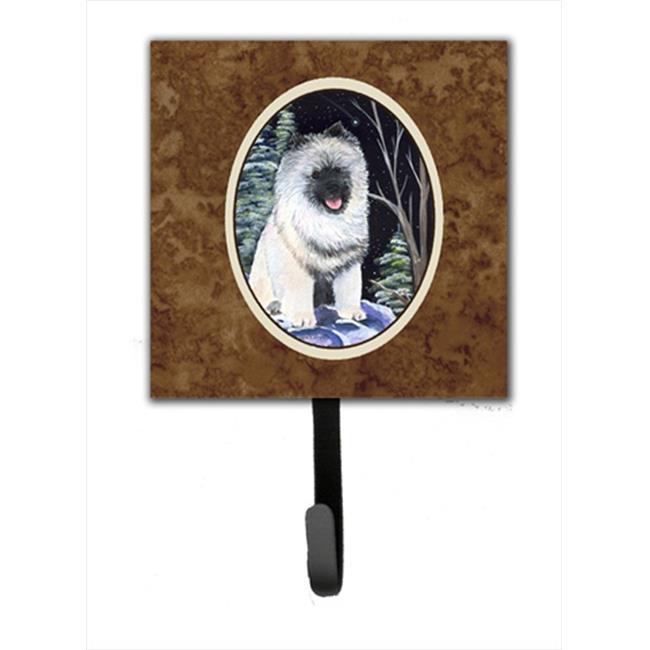 Carolines Treasures SS8404SH4 Starry Night Keeshond Leash Holder Or Key Hook - image 1 of 1