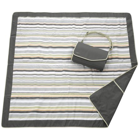 JJ COLE Outdoor Blanket 5 X 5 - Gray Green