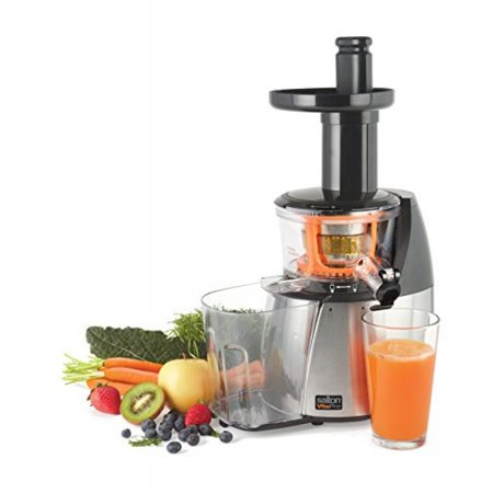 Salton JE1372 vita Pro Low Speed Juicer, White - Walmart.com