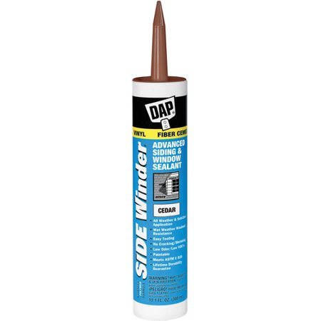 Dap 00823 Cedar Side Winder Advance Polymer Siding and Window Sealant ()