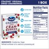 Ocean Spray Craisins Dried Cranberries, Original, 6ct-1oz Snack Pack Boxes