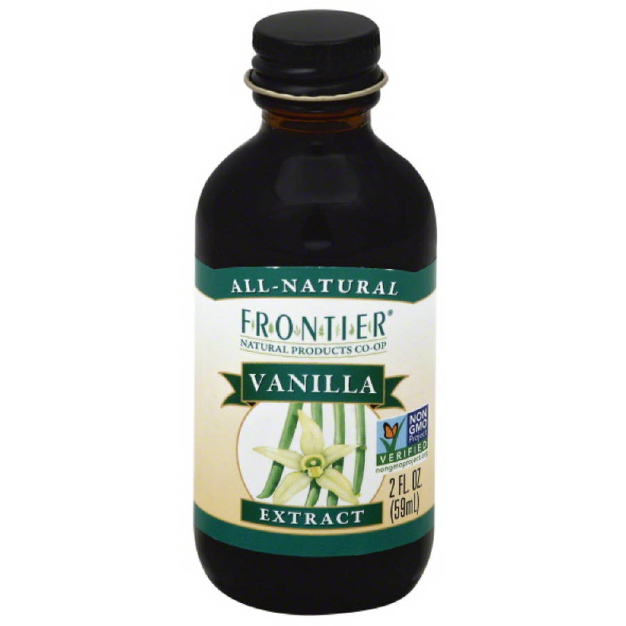 Frontier Natural Products Co- Op Organic Vanilla Extract, 2 fl oz, (Pack of 24)