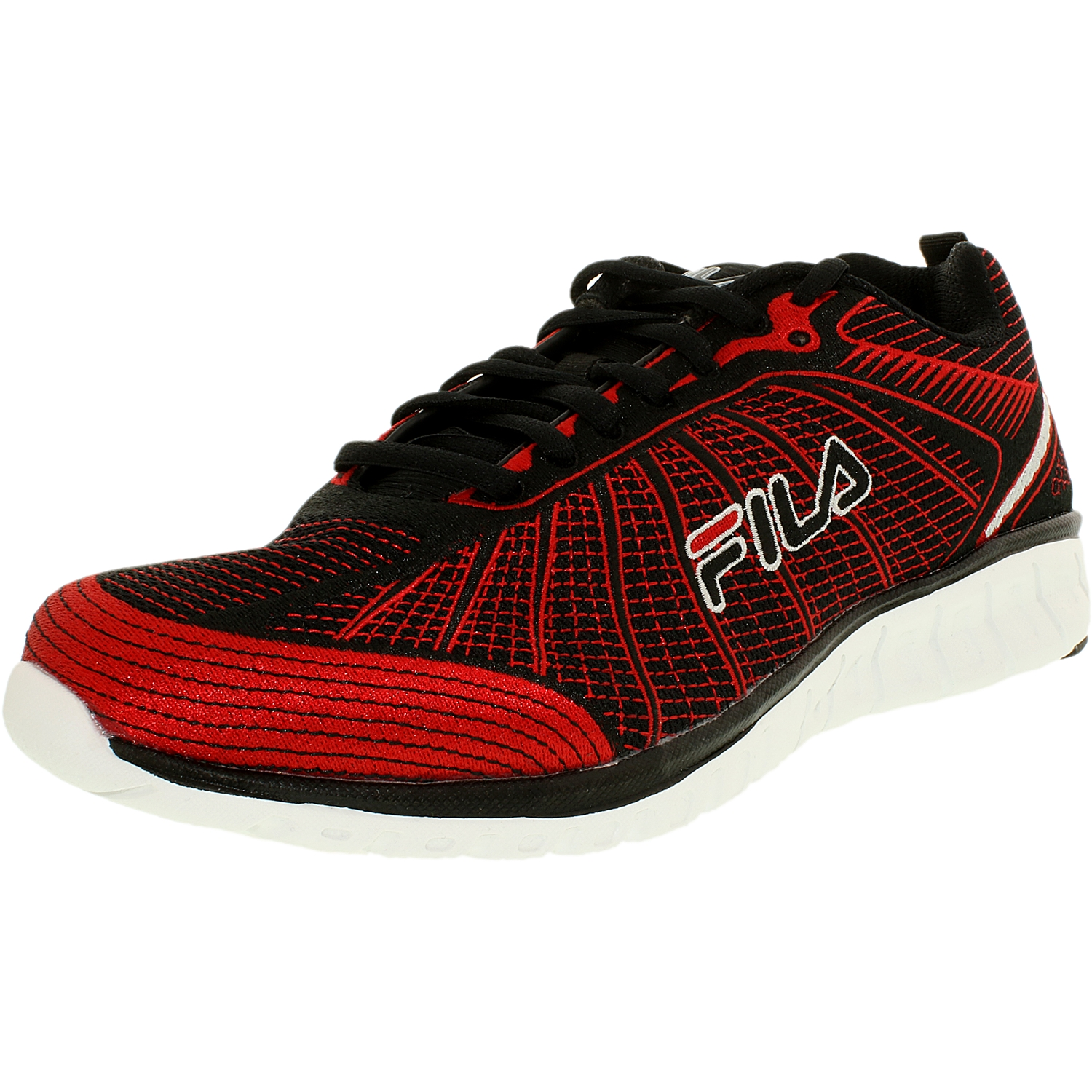 Fila Men's Speedweave Run Ii Neon Green   Black Ankle-High Running Shoe 9.5M by Fila