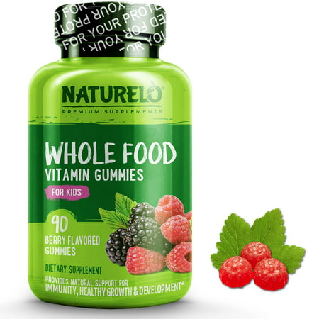 Mix Gummy - Whole Food Vitamin Gummies for Kids - Mixed Berry Flavor - 90 Gummies