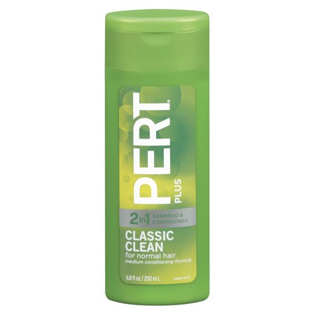 6.8 Ounce Liquid - Pert Plus Classic Clean 2-in-1 Shampoo & Conditioner For Normal Hair, 6.8 Fl Oz