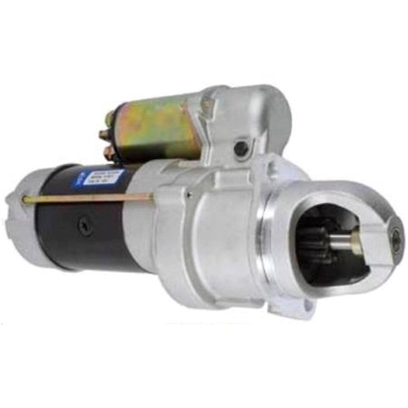 NEW 12V 10T STARTER MOTOR FITS COTTON PICKER 7445 9900 9910 9920 9930 1107599 AT25619 9920 9930 2030 2050 Fax
