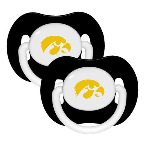 NCAA Iowa Hawkeyes 2 Pack Pacifier