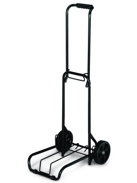 "American Tourister Folding Luggage Cart, Black, 39"" x 13"" (15"" platform), 3lbs Empty, 75lbs Capacity"
