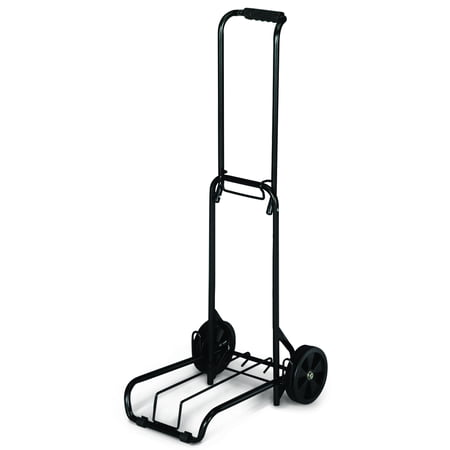 American Tourister Folding Luggage Cart, Black (Best Luggage Cart For Car Seats)