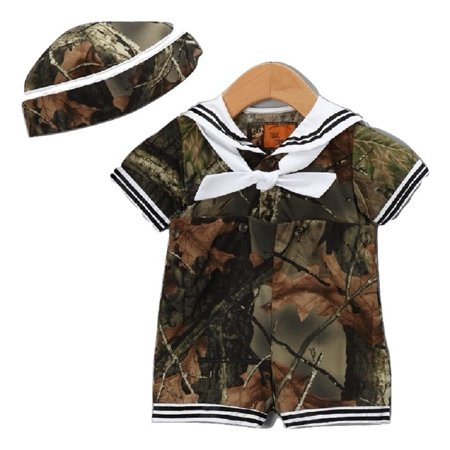 Baby Boys Dress Me Up Sailor Outfit 3 Pc (6-12 Months) - Boys Fairytale Dress Up