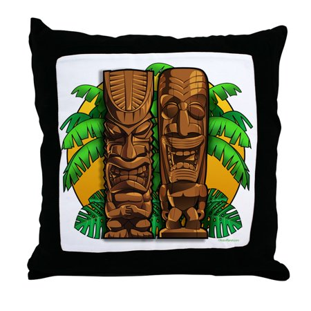 CafePress - Tiki Gods - Decor Throw Pillow (18