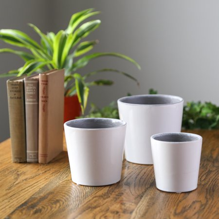 Cheap Ceramic Pots (Urban Trends Collection: Ceramic Pot Gloss)