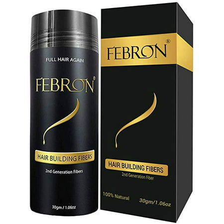 Febron Hair Building Fibers - Hair Loss Concealer For Thinning Hair - Giant 30gm (Medium