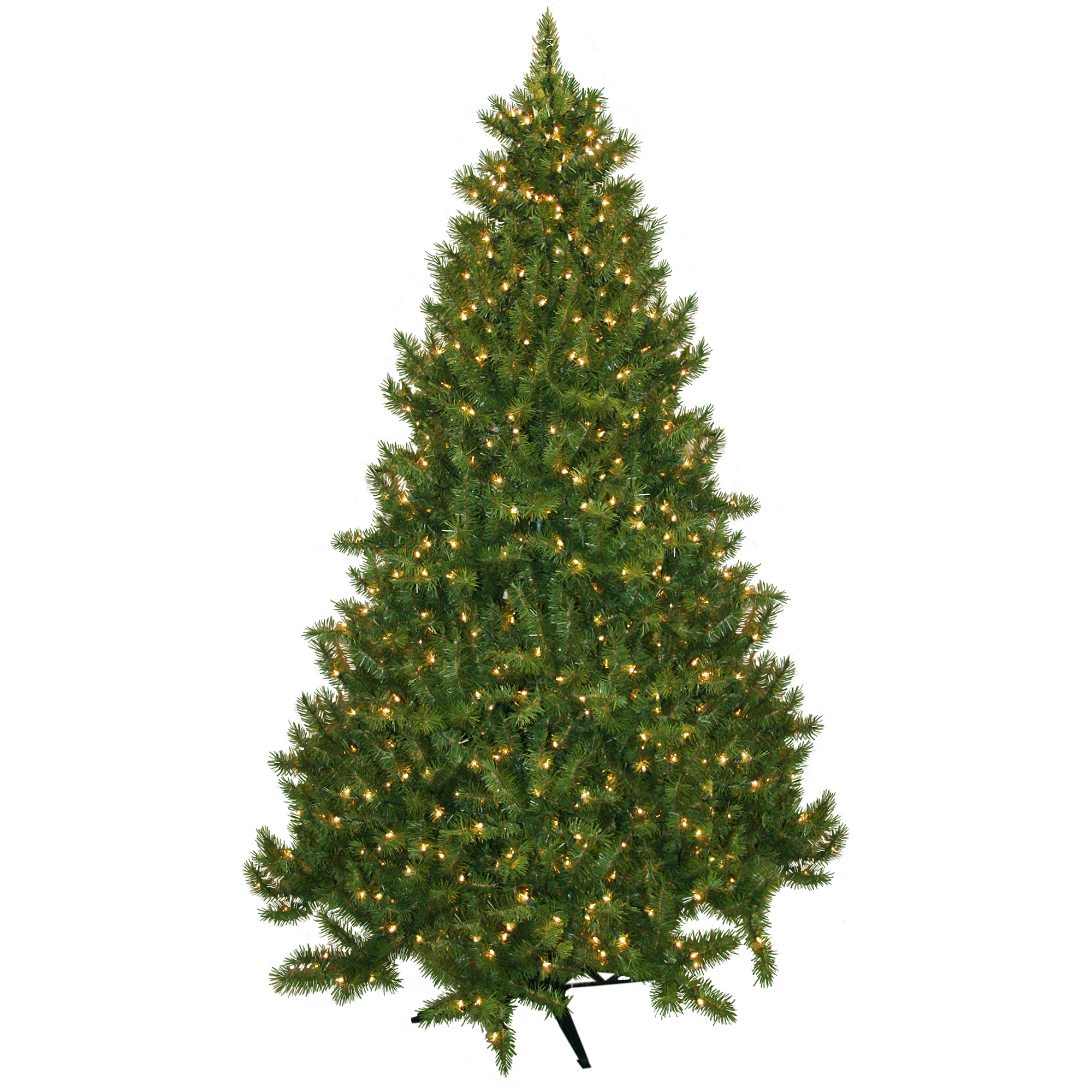 Pre-Lit 7.5' Vermont Fir Artificial Christmas Tree, 700 Clear Lights