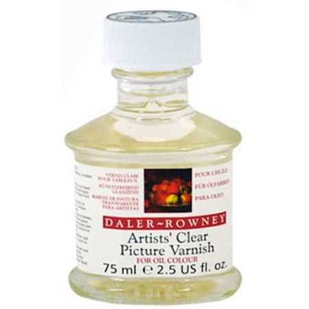 Daler-Rowney - Artists' Clear Picture Varnish - 75ml