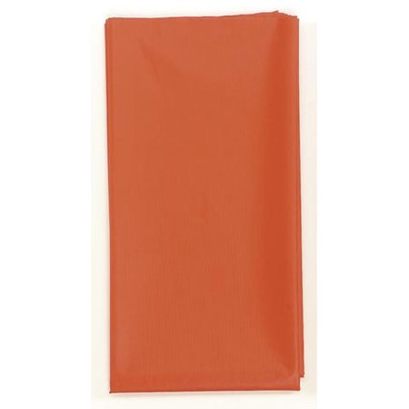 Plastic Table Cover Roll - Red - 40 inches x 100 feet
