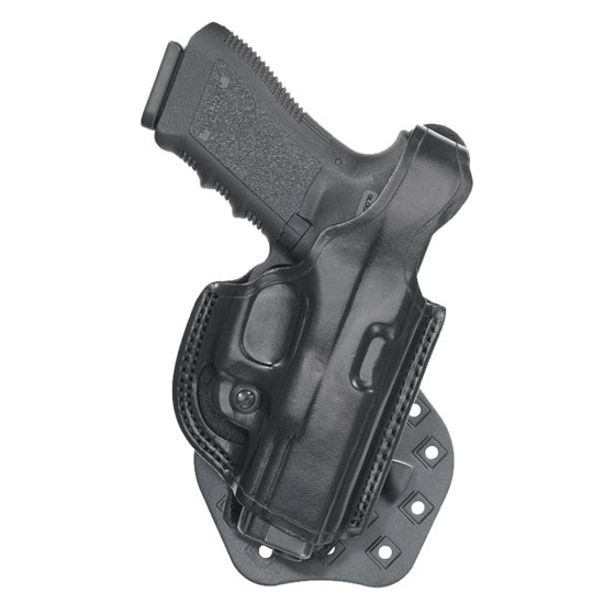Aker Leather H268BPRU-KAHR 9 Flatside XR17 Paddle Holster Black RH For Kahr  CW40