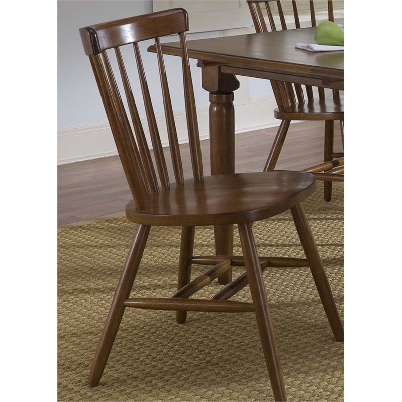 Liberty Furniture Creations II Copenhagen Dining Side Chair in Tobacco