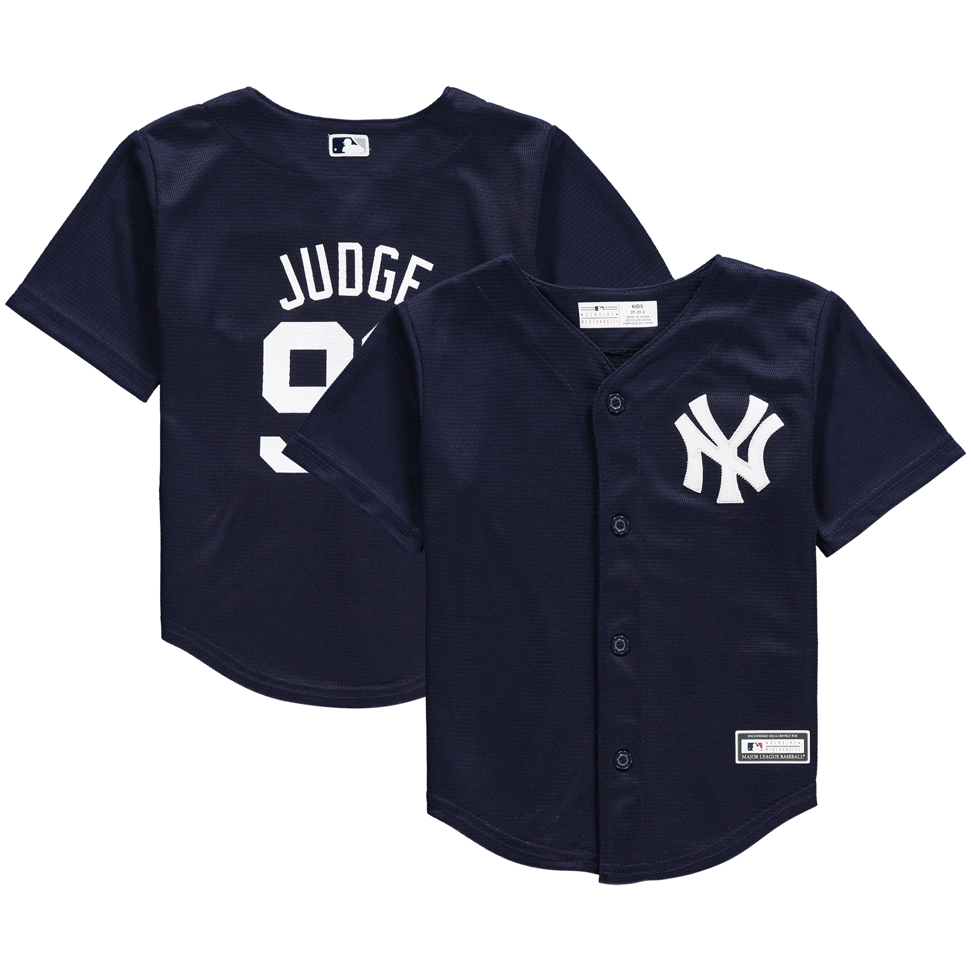 Aaron Judge New York Yankees Toddler Replica Player Jersey - Navy