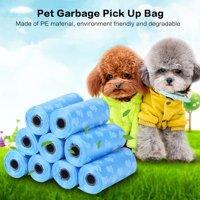 OTVIAP Pet Garbage Pick Up Bag,10 Rolls Garbage Clean-up Paw Bag Pet Dog Cat Waste Poop Pick Up Bag Pet Waste Poop Bags
