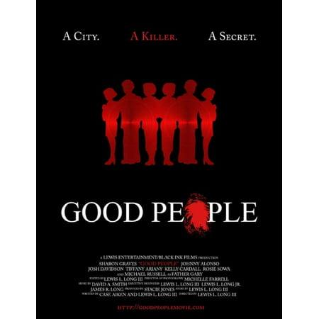 Good People Movie Poster Print  27 X 40