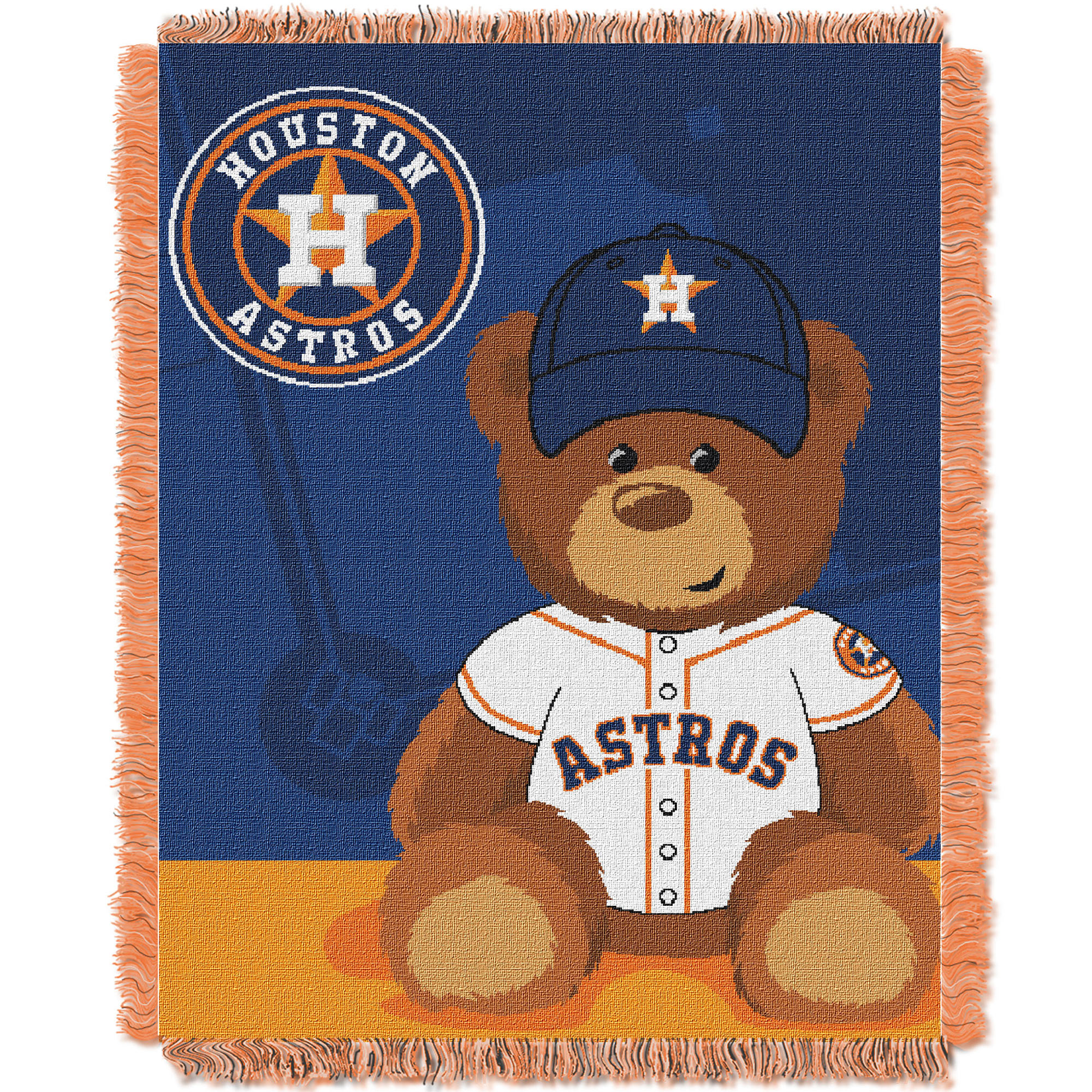 Houston Astros The Northwest Company 36'' x 46'' Baby Jaquard Throw - No Size