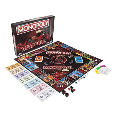 Monopoly Game: Marvel Deadpool Edition - Monopoly Classic Edition