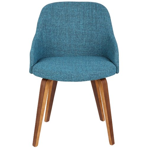 Lumisource Bacci Mid-Century Modern Upholstered Dining Chair by