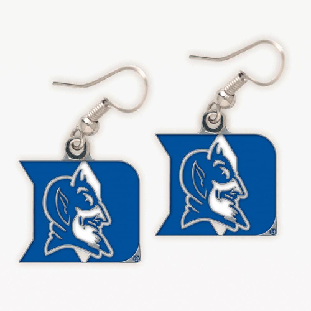 Duke Blue Devils Official NCAA 1 inch  Earrings by WinCraft