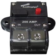 Nippon Audiopipe 200Amp Manually Resettable Circuit Breaker