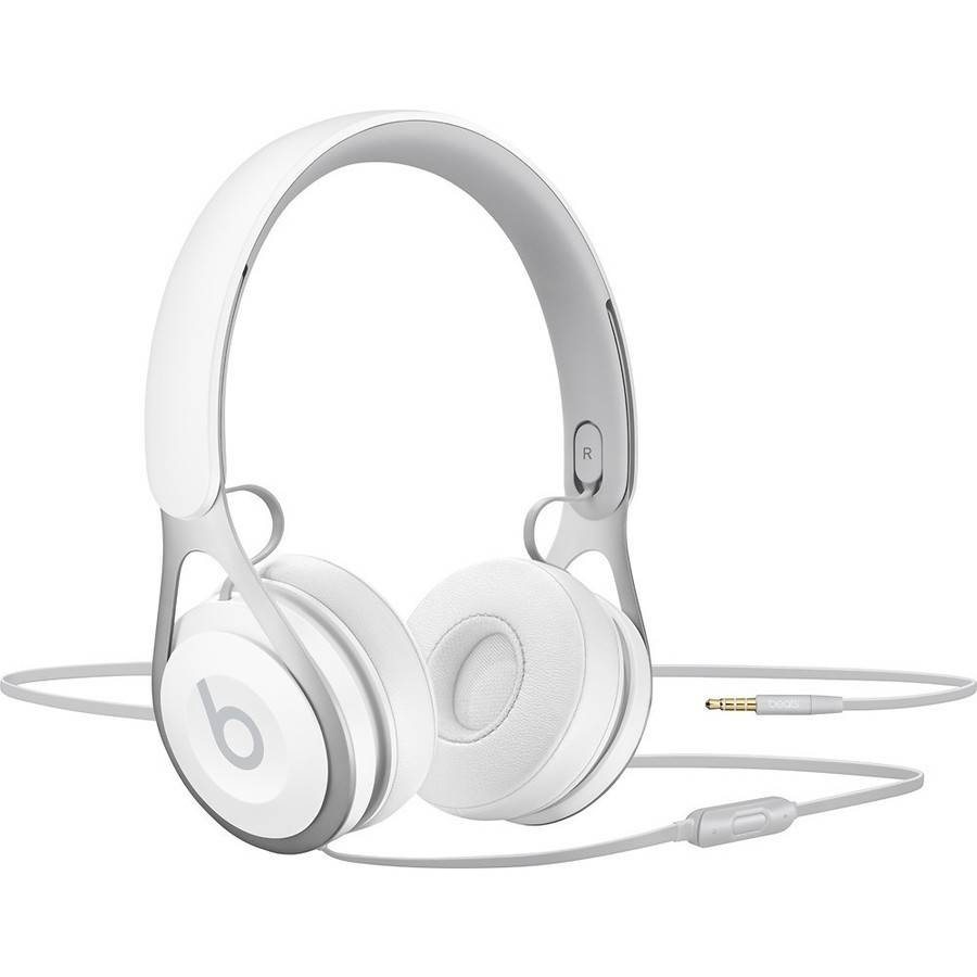Refurbished Beats by Dr. Dre EP White Over Ear Headphones ML9A2LL/A