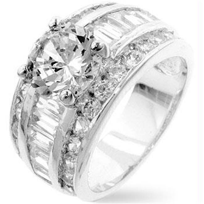 Luxurious Engagement Ring, <b>Size :</b> 09