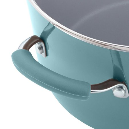 Pemberly Row Pasta Pot in Agave Blue - image 2 of 7