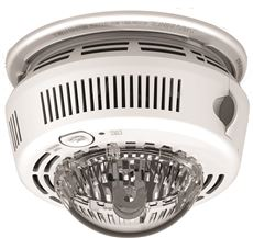 First Alert Photoelectric Smoke Alarm With Integrated Strobe Light, 120 Volt Ac/Dc