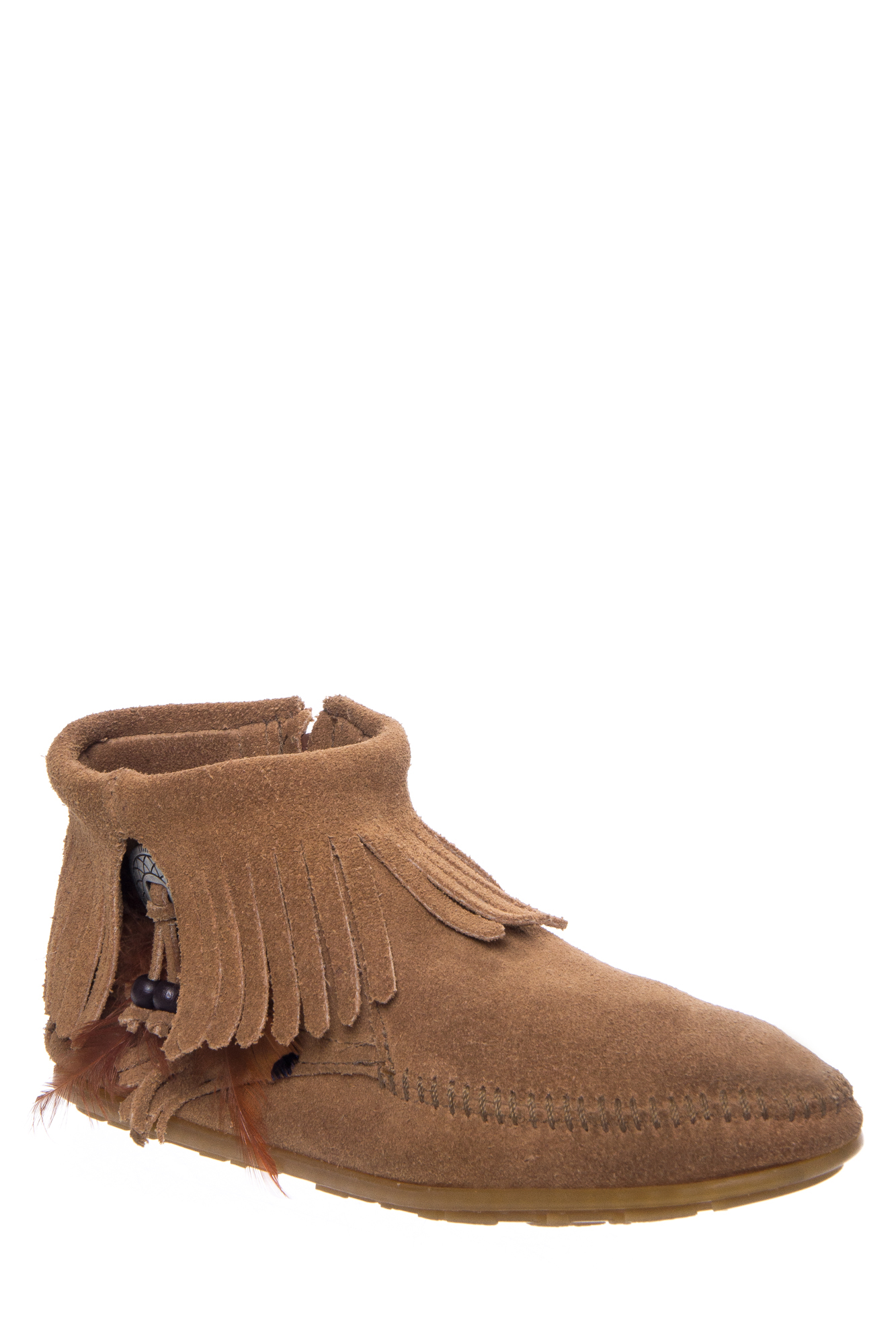 Click here to buy Minnetonka 527t Ankle Concho Bootie Taupe by MINNETONKA.