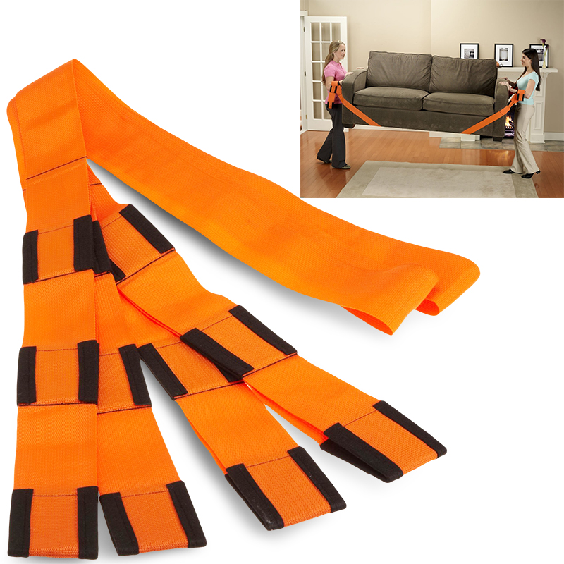 9' Adjustable Moving Strap Sea, 2PC