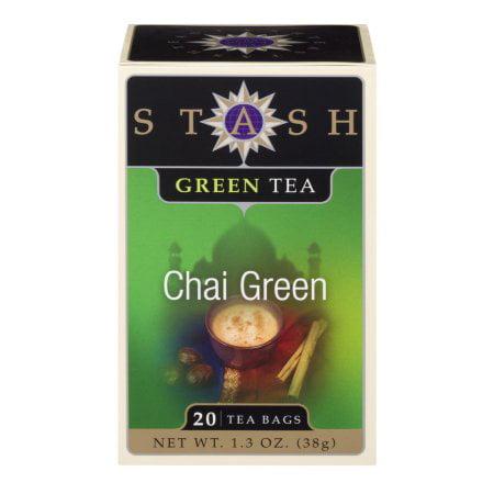 Stash Tea, Chai Green, 40 Count