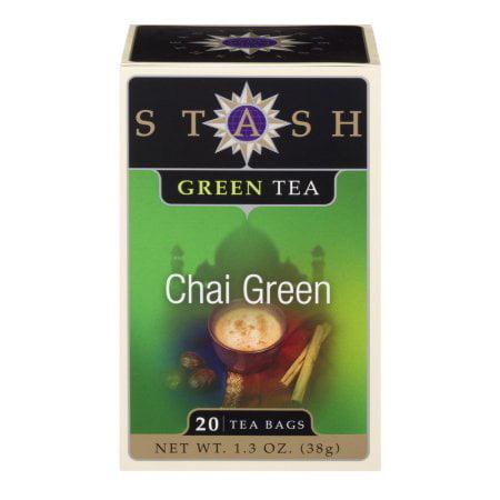Stash Tea, Chai Green, 40 Count Kcups