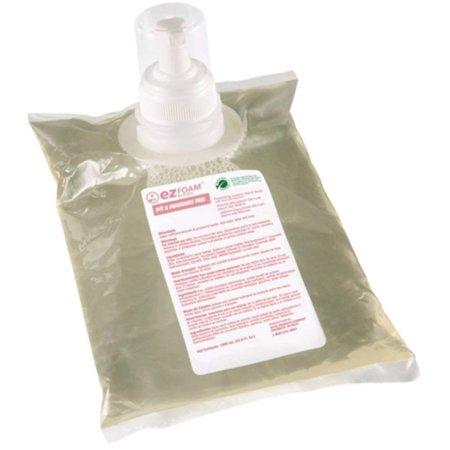 Kutol 68641 EZ Foam Hand Soap Refill, Dye and Fragrance Free - Pack of 6