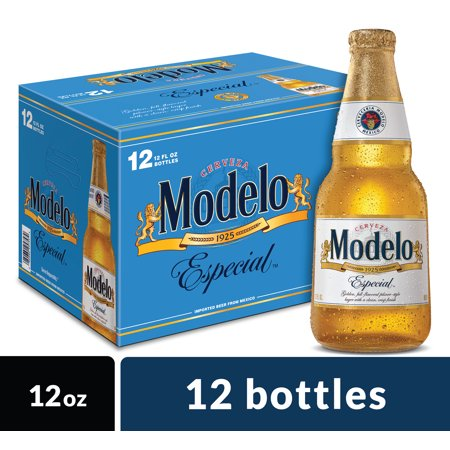 Modelo Especial Mexican Import Beer, 12 pk 12 fl oz Bottles, 4.4% ABV