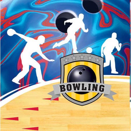 Bowling Party Lunch Napkins](Bowling Themed Party)