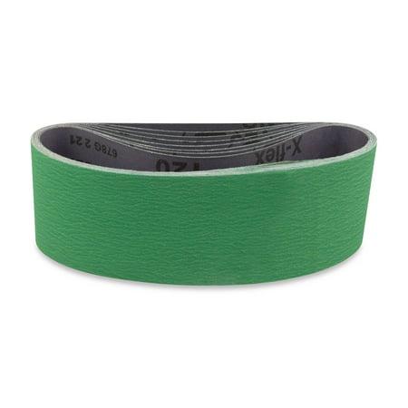 4 X 21 Inch Metal Grinding Ceramic Sanding Belts Extra