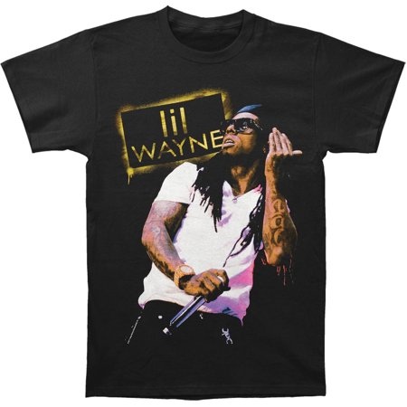 Lil Wayne Mens  Tattoo T Shirt Black