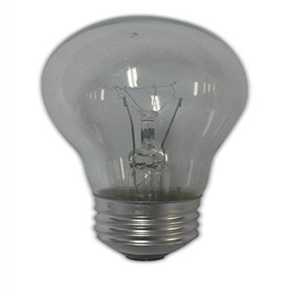 Clear Medium Light Bulb - A-15 - 25 wattage - 4 Pack. - E26 - image 1 de 1