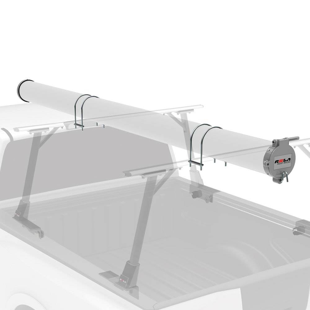 "6/"" Truck Conduit Carrier Kit Lockable Safe Roof Top Mount Pipe Holder Storage"