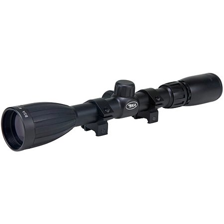 BSA Special Series 4-12x40mm Rifle Scope with 30/30 Duplex Reticle and 100-Yard Parallax