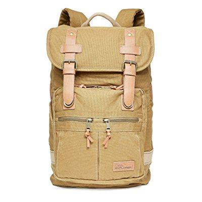 national geographic cape town daypack, khaki, one size