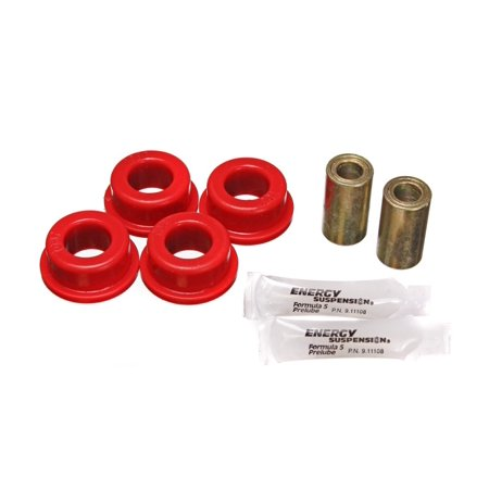 Energy Suspension 93-98 Jeep Grand Cherokee Red Rear Track Arm Bushing Set