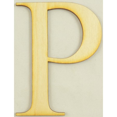Rho Greek Letter Size:6 Inch Thickness:1/4